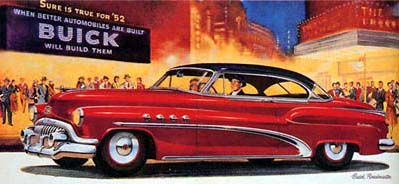Old Poster Buick